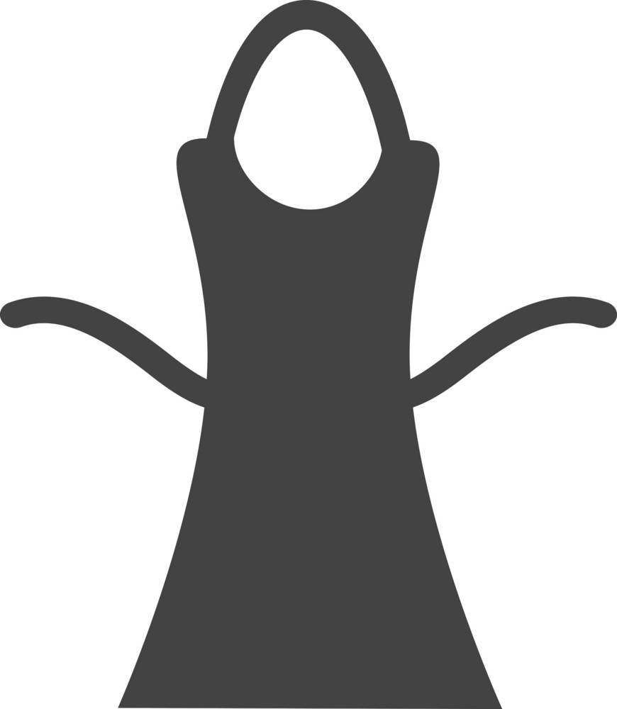 Apron Glyph Icon