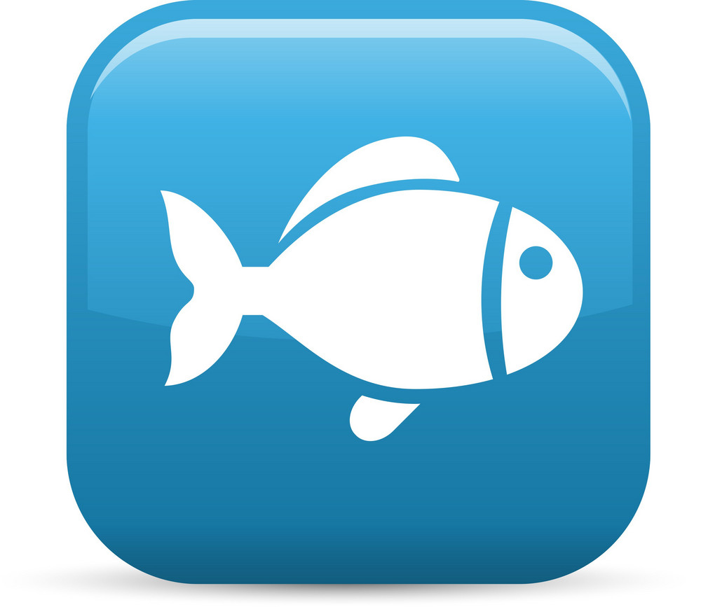 Aquatic Life Elements Glossy Icon