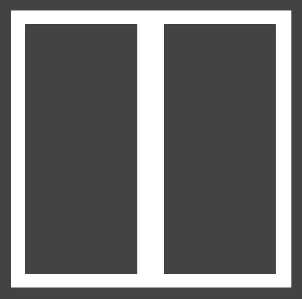 Arrange 2 Glyph Icon