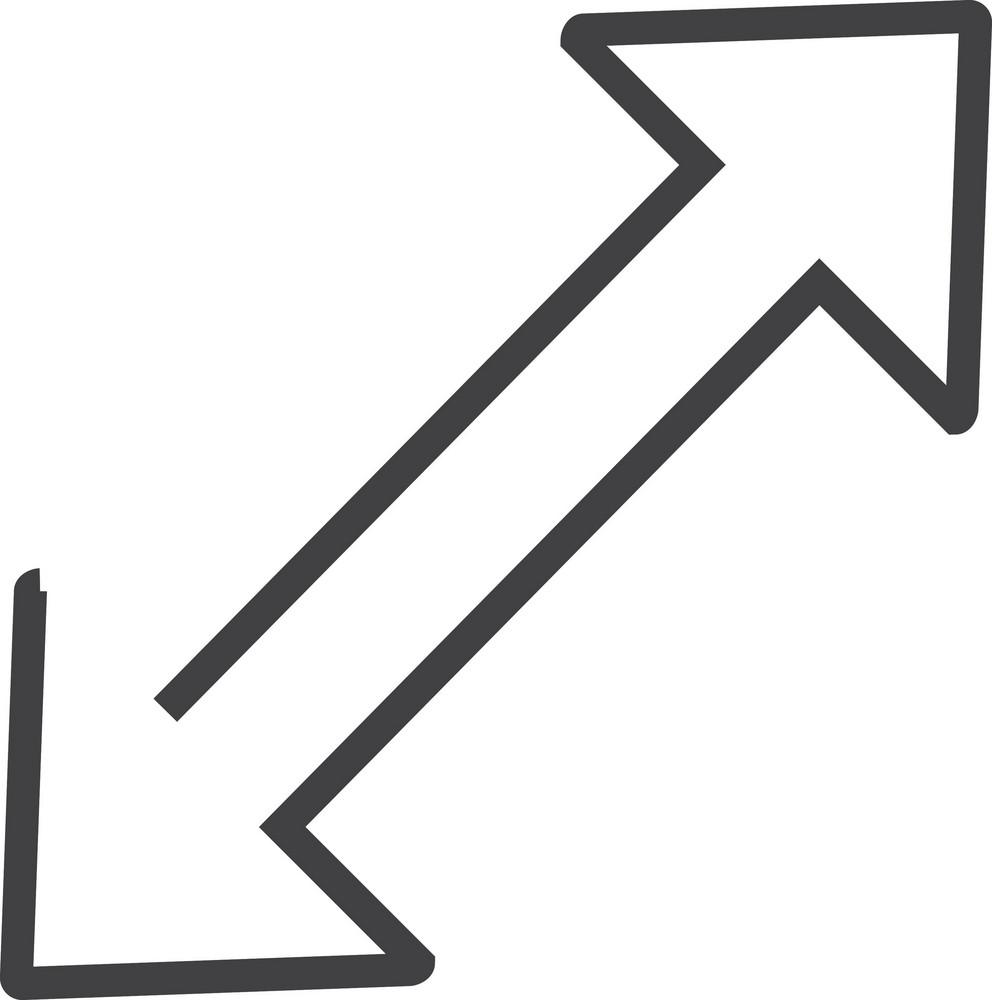 Arrow 1 Minimal Icon