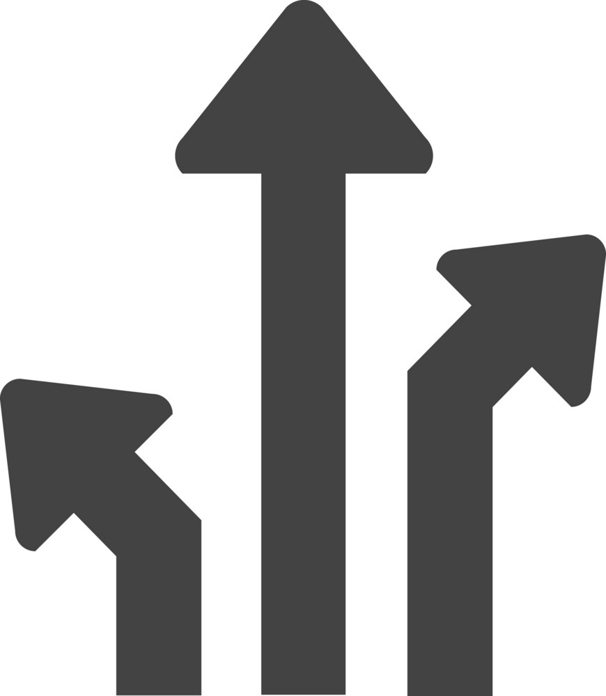 Arrow 10 Glyph Icon