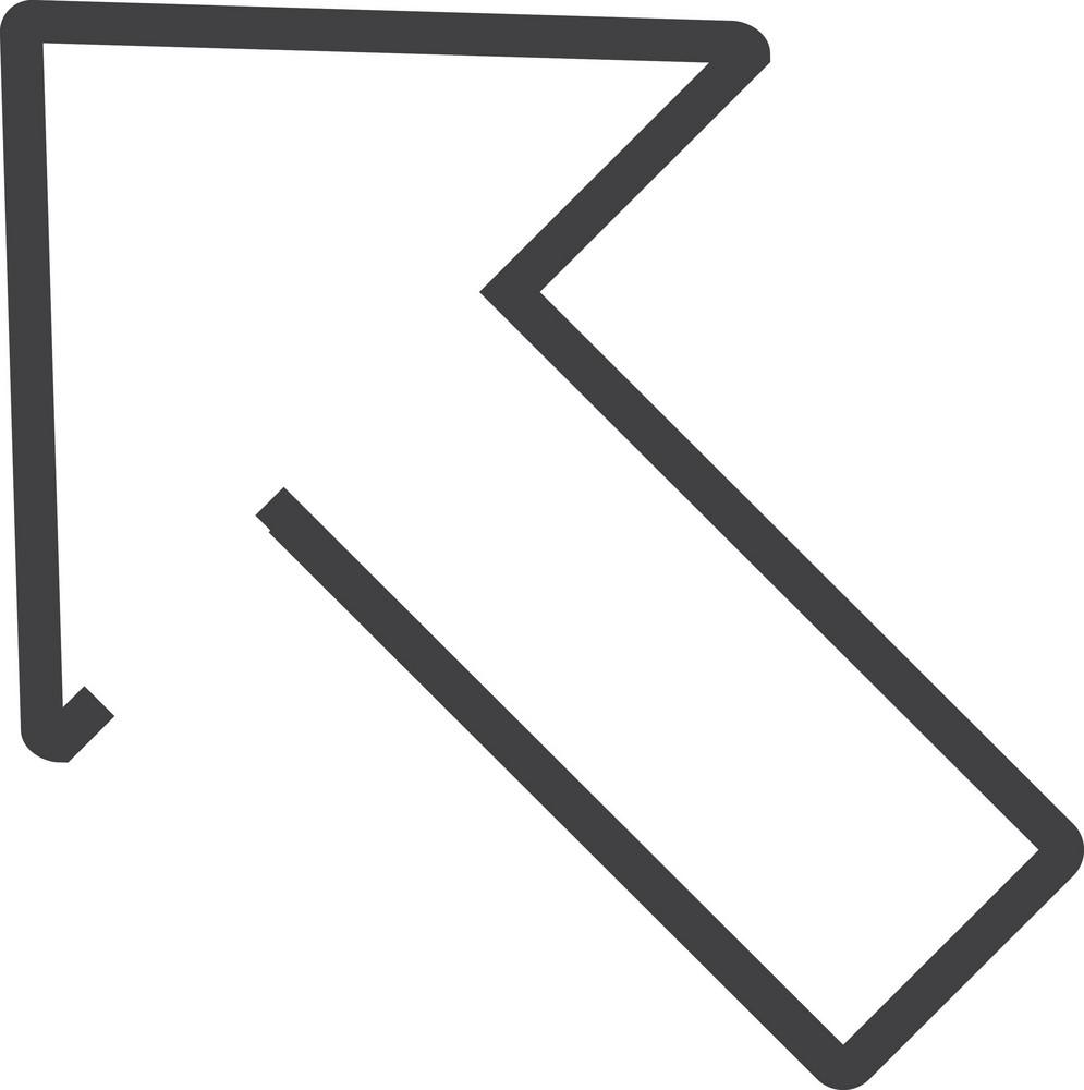 Arrow 15 Minimal Icon