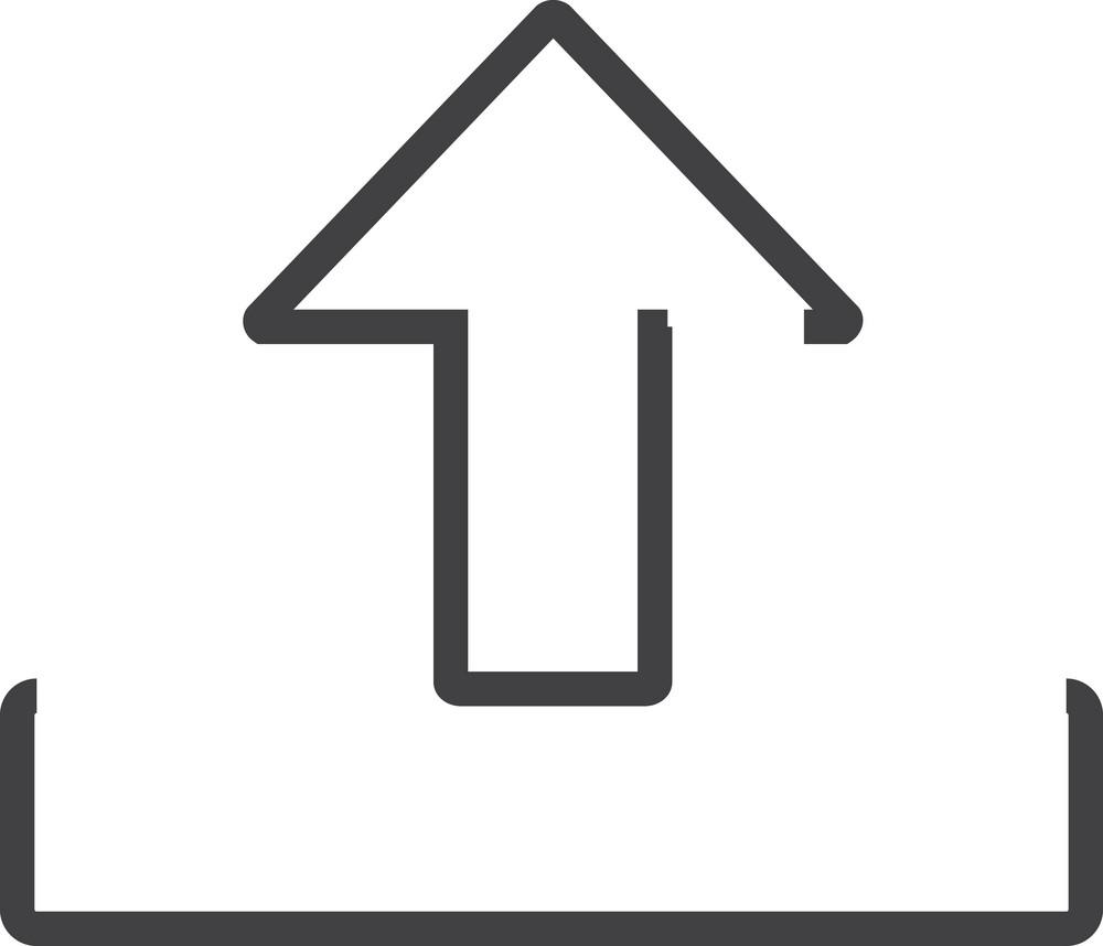Arrow 18 Minimal Icon
