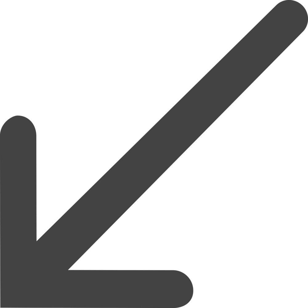 Arrow 2 Glyph Icon
