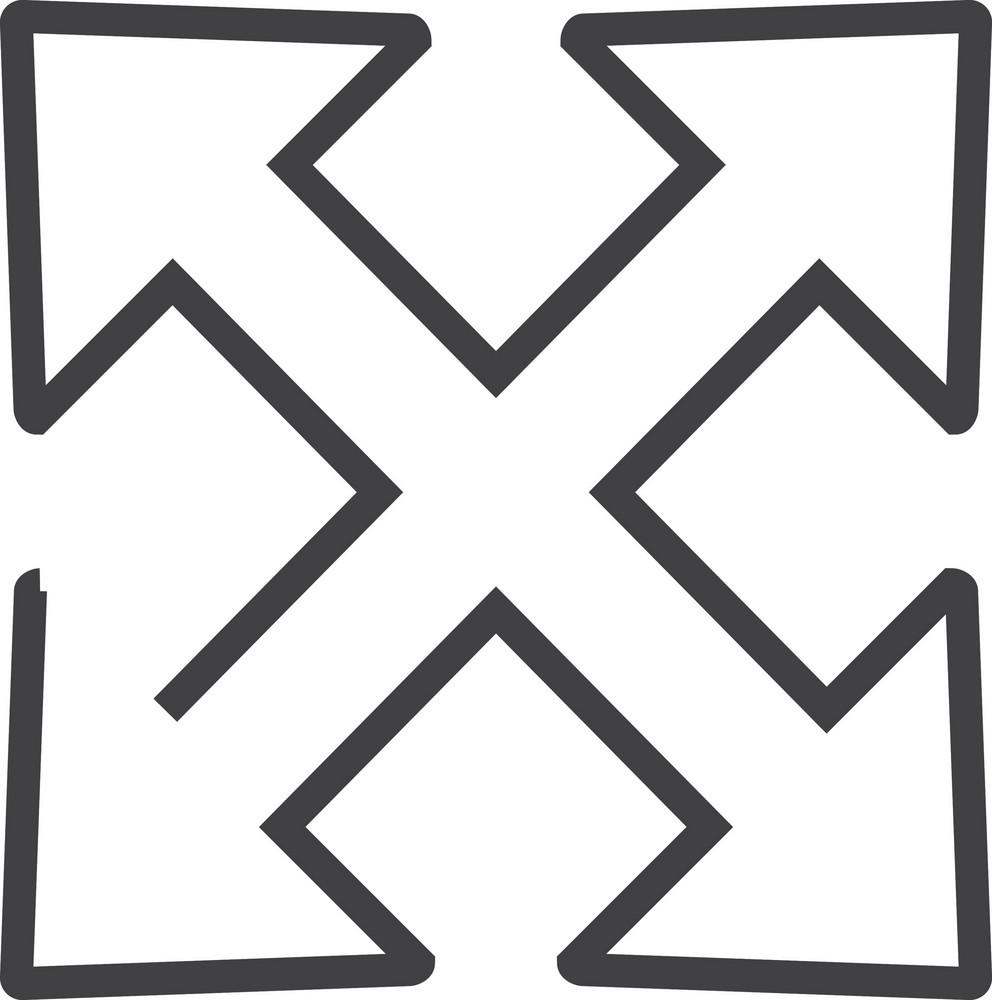 Arrow 3 Minimal Icon