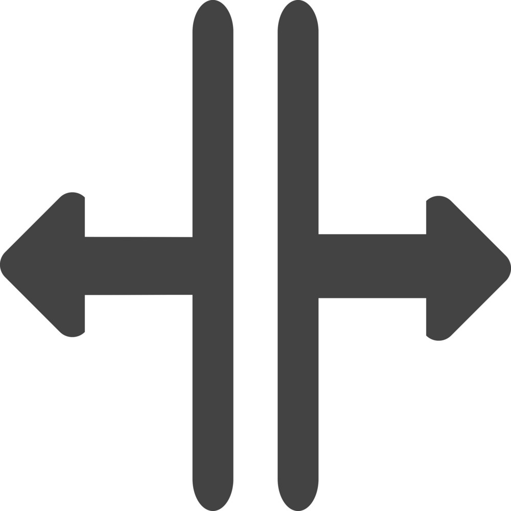 Arrow 43 Glyph Icon