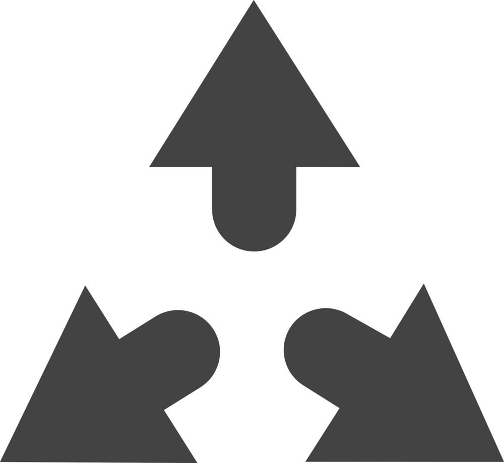 Arrow 5 Glyph Icon