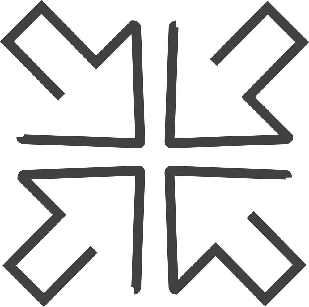 Arrow 5 Minimal Icon