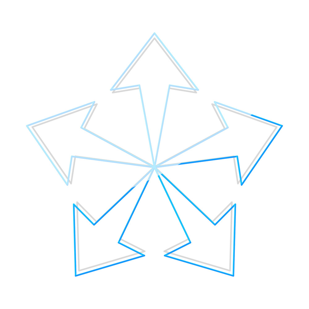 Arrow Snowflake