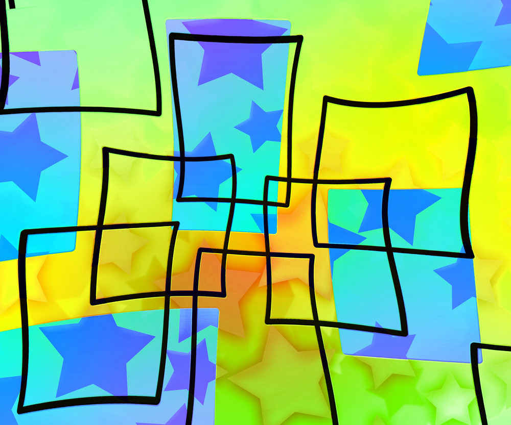 Art Abstract Stars Background