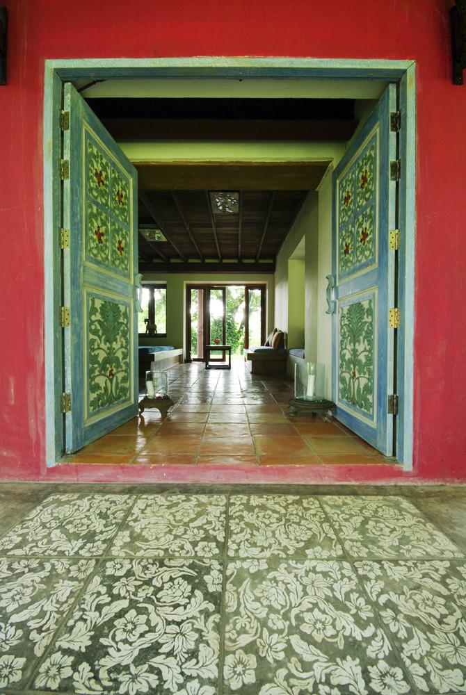 Art work Door in City Palace