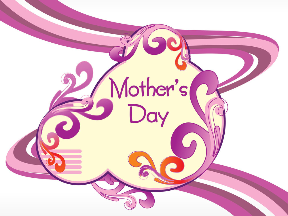 Artistic And Creative Design Mother Day Background