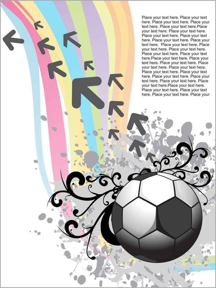 Artistic Design With Football