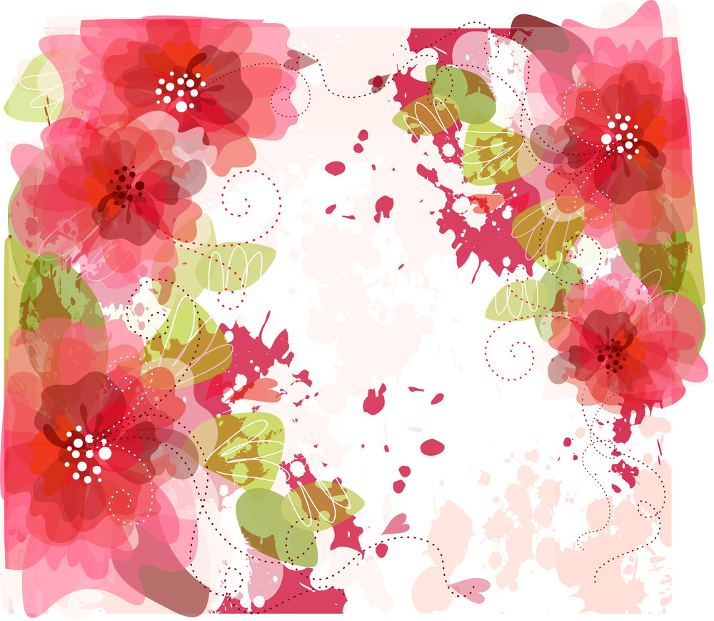 Artistic Flower Background