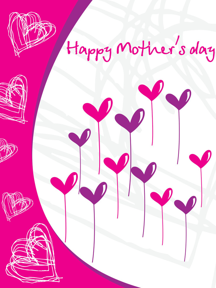 Artistic Pattern Mother Day Card