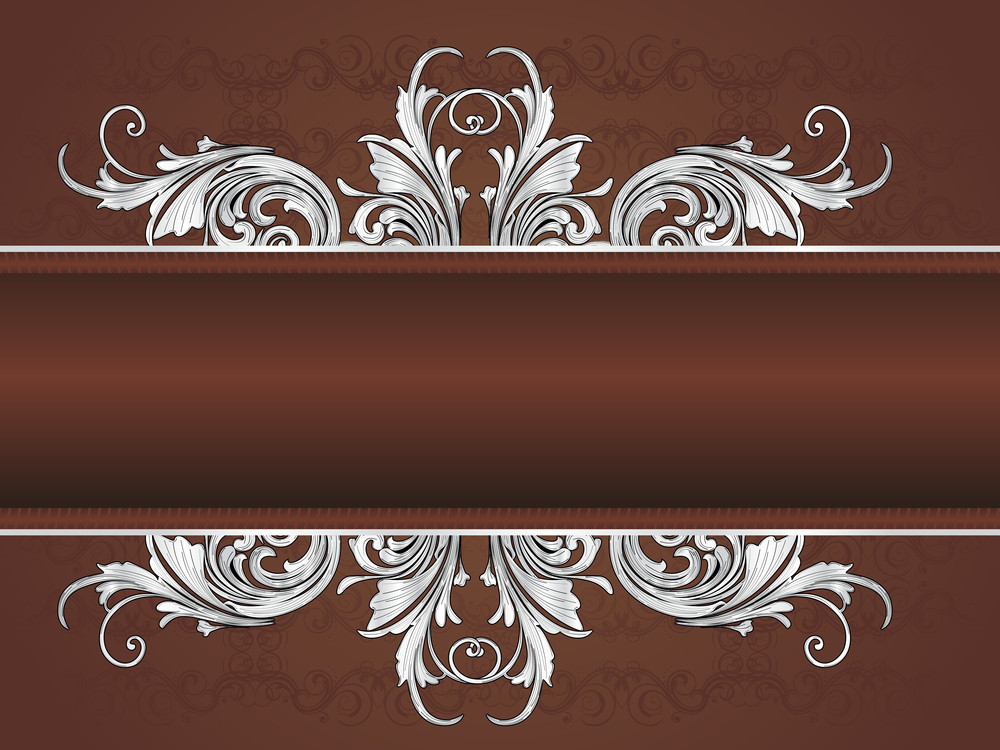Artwork Pattern Banner With Background