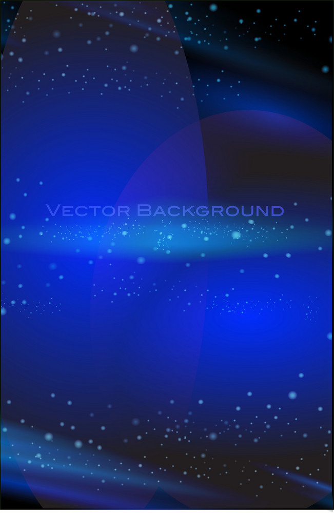 Astral Blue Background