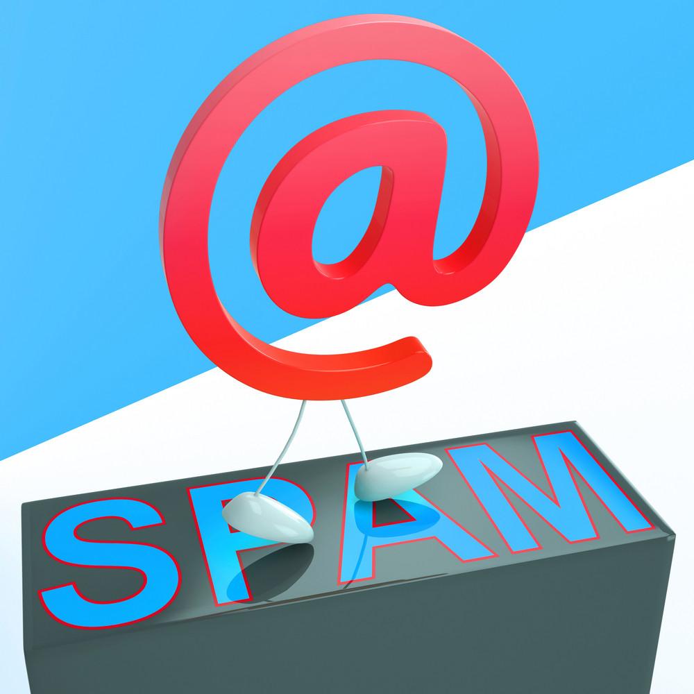 At Sign Spam Shows Malicious Spamming