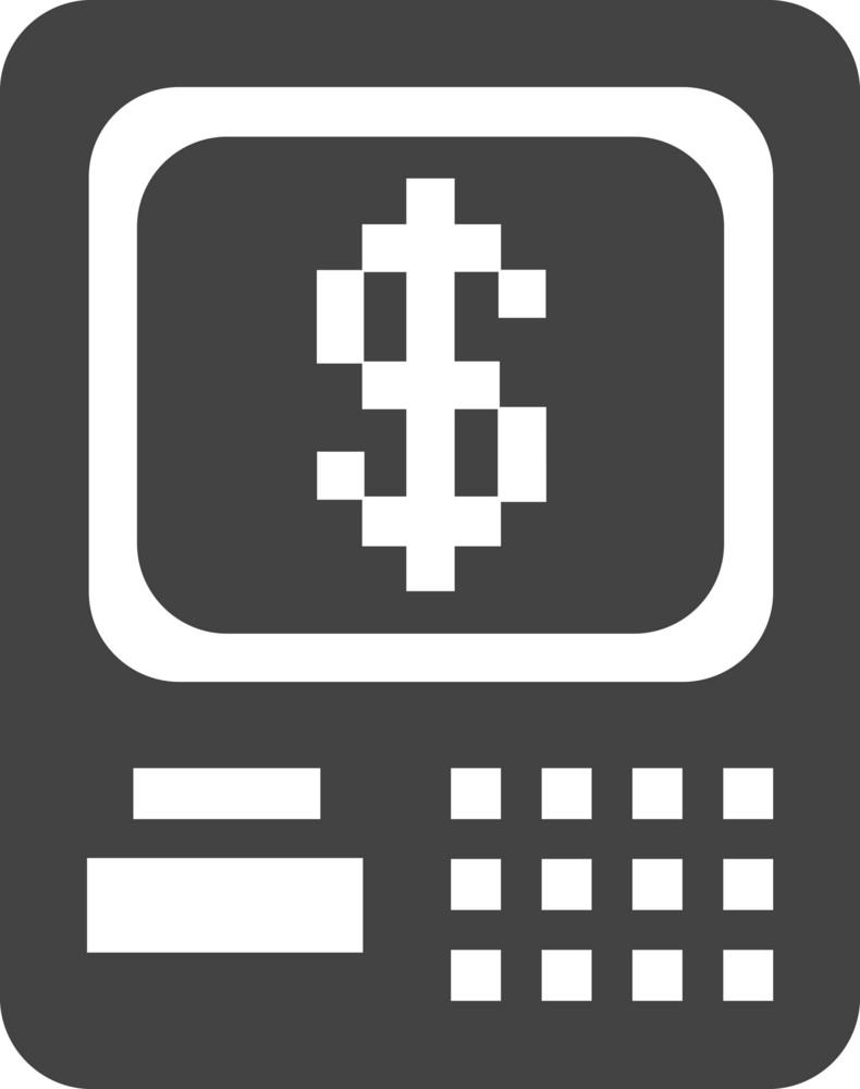 Atm Glyph Icon