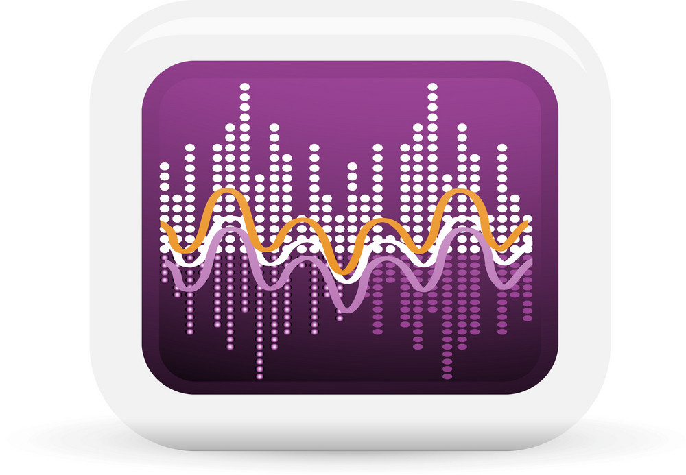 Audio Waveform Lite Music Icons