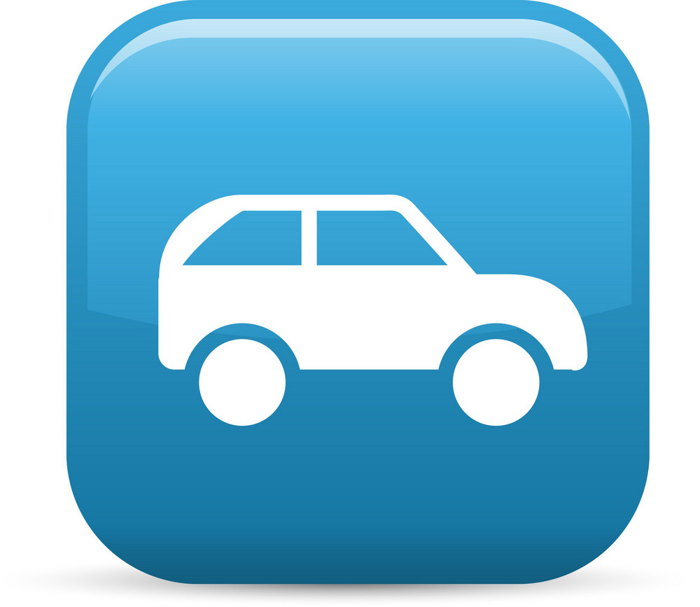 Automobile Elements Glossy Icon