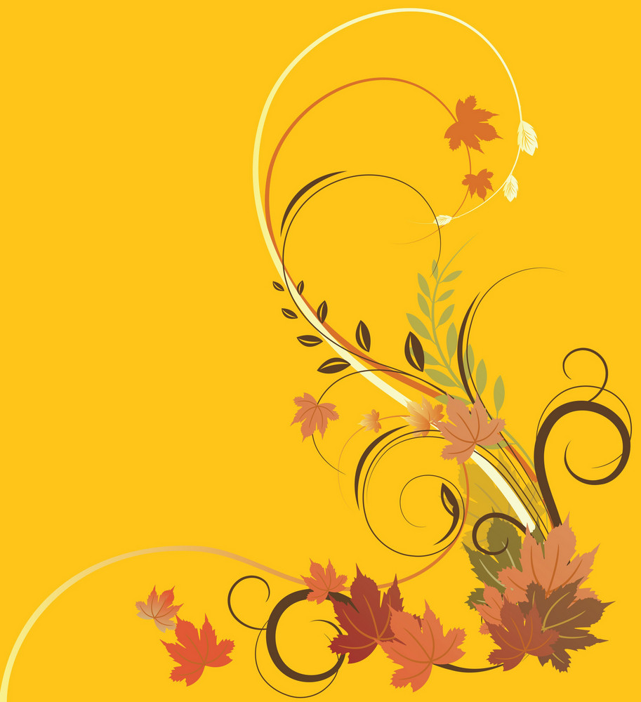 Autumn Floral Illustration