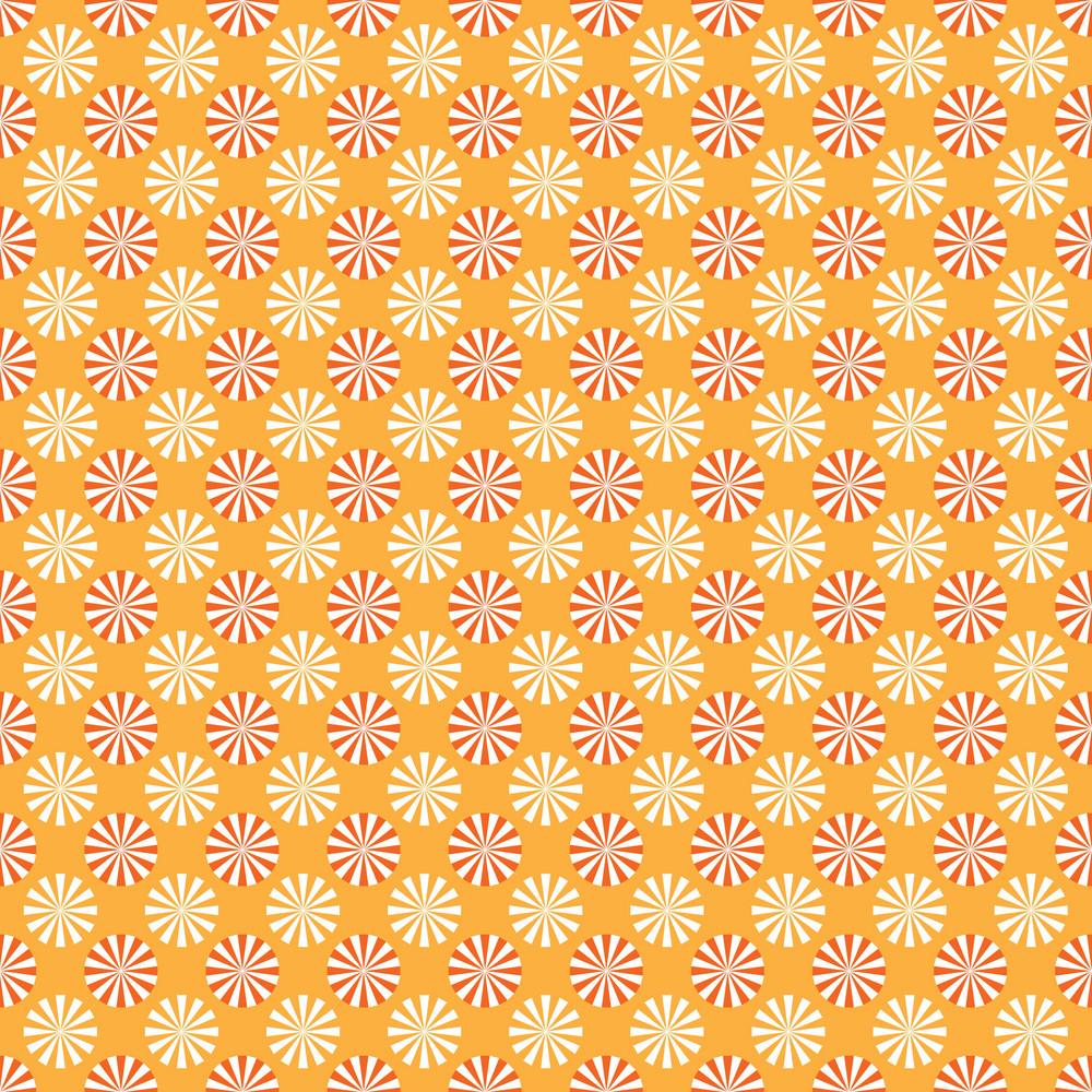 Design Pattern Of Pinwheels On An Autumn Background