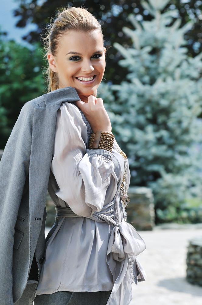 Woman fashion outdoor