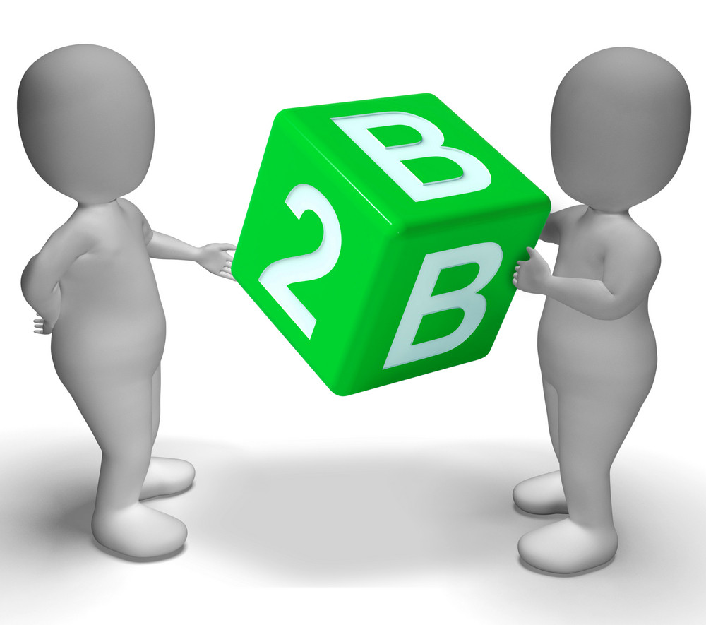 B2b Dice As A Sign Of Business