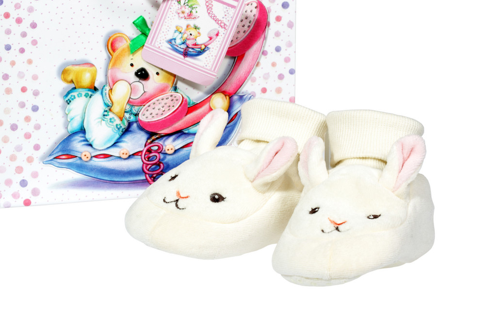 Baby Shoes With Gift Bag