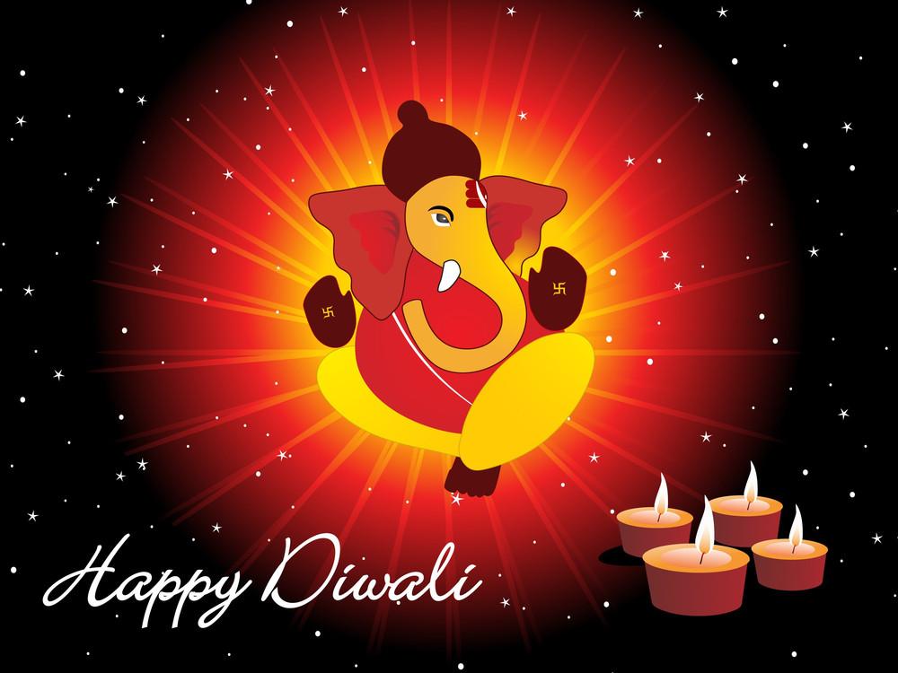 Background For Diwali Celebration