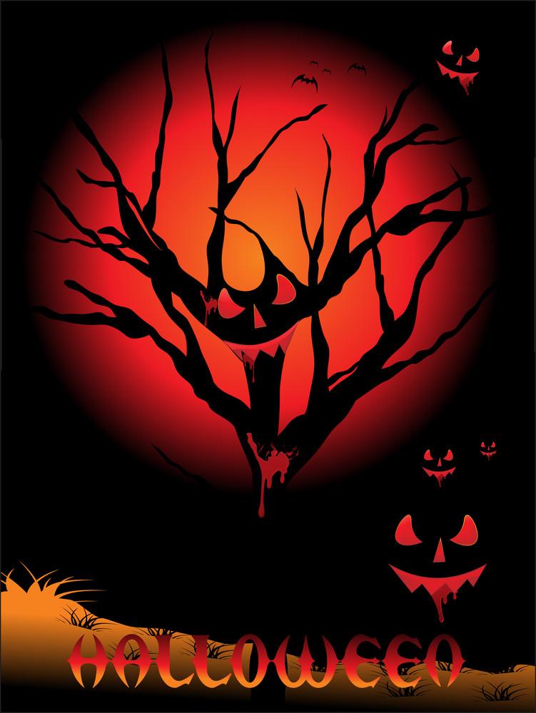 Background For Halloween Celebration