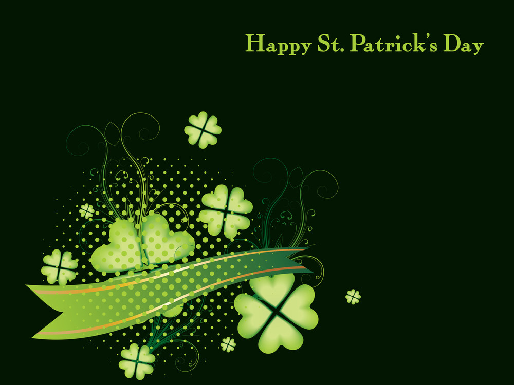 Background For Happy St Patricks Day