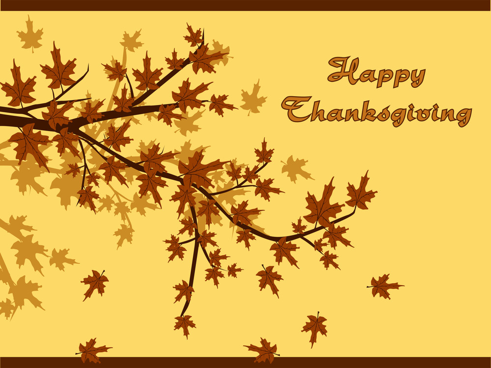 Background For Happy Thanksgiving Day