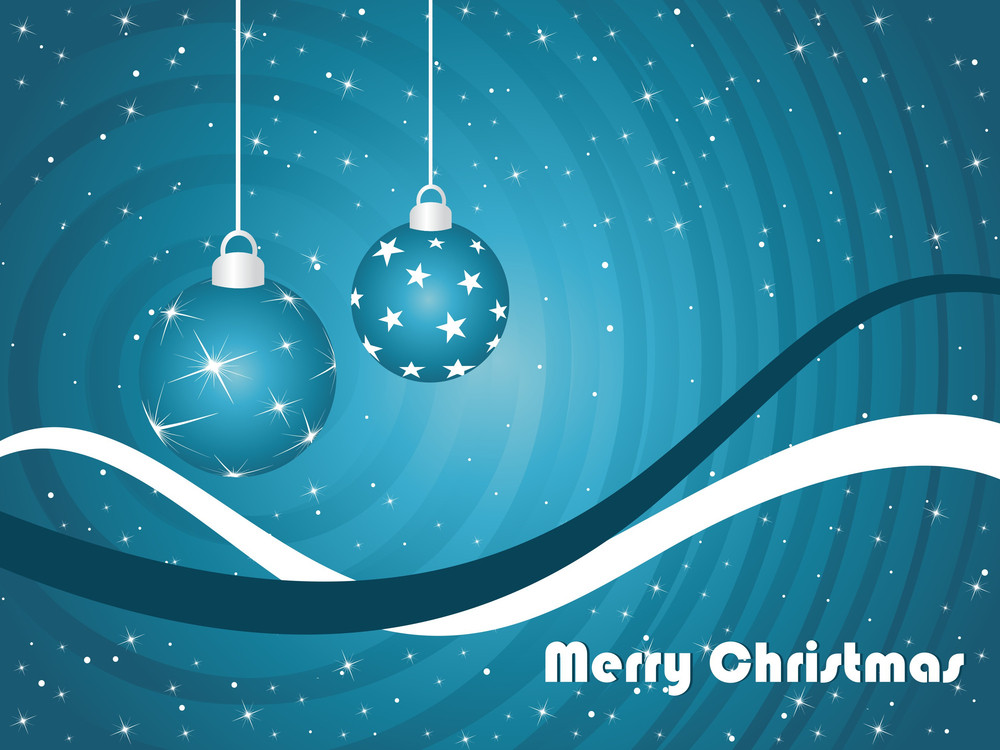 Background For Merry Christmas Celebration