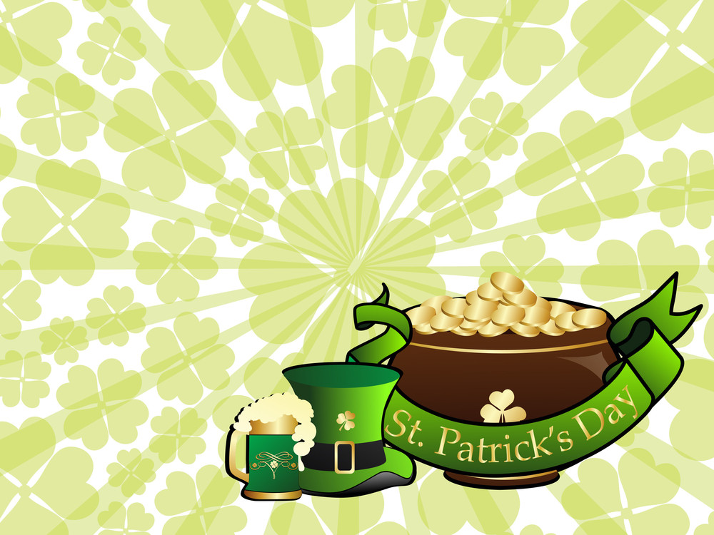 Background For Patrick Day Celebration