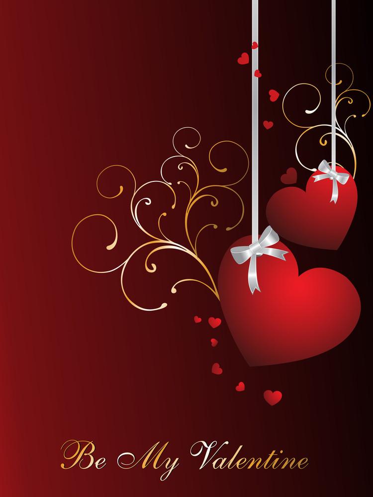 Background For Valentine Day Celebration