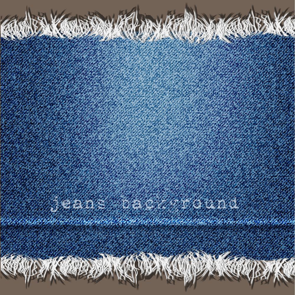 Background Of Denim Texture