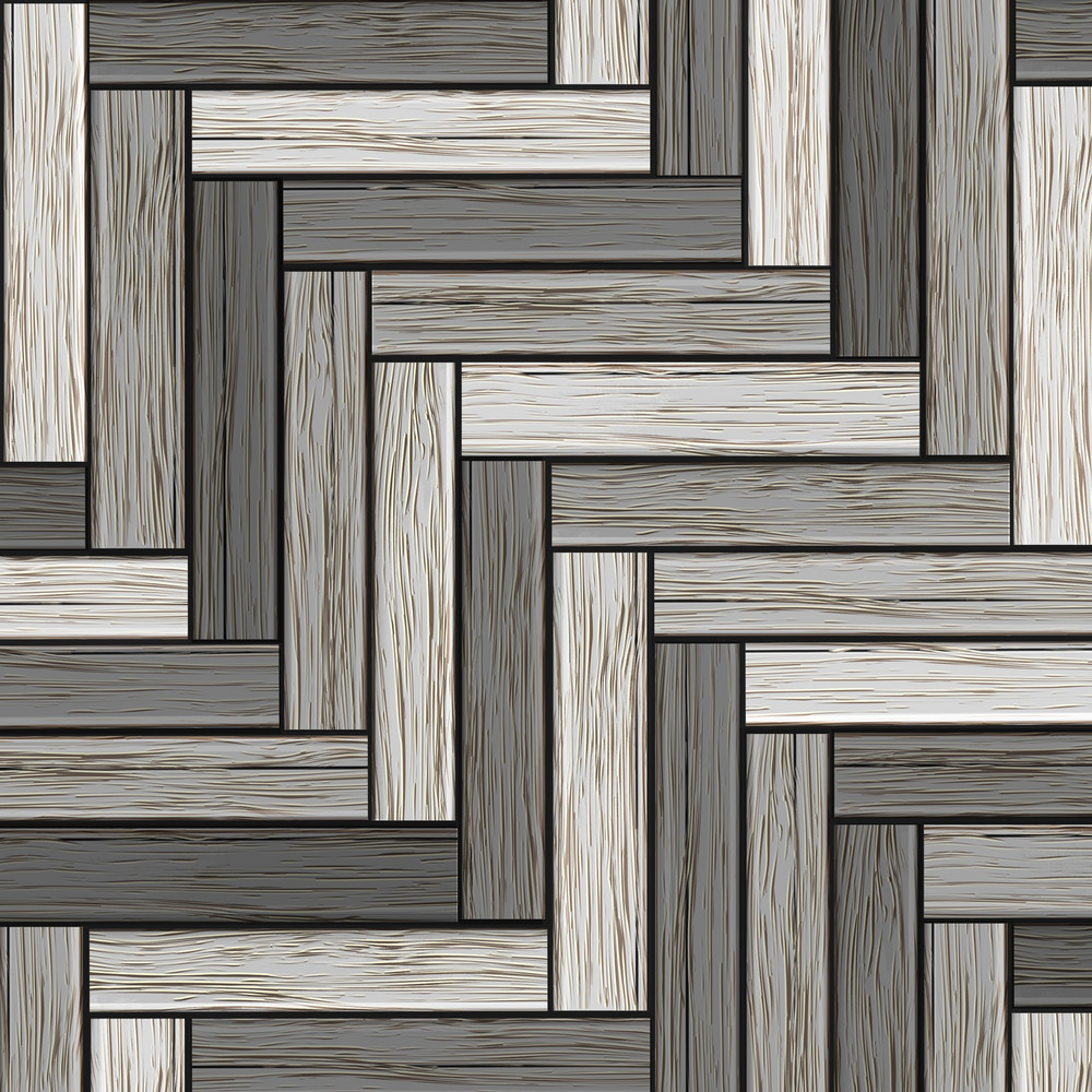 Background Of Wooden Grey Parquet