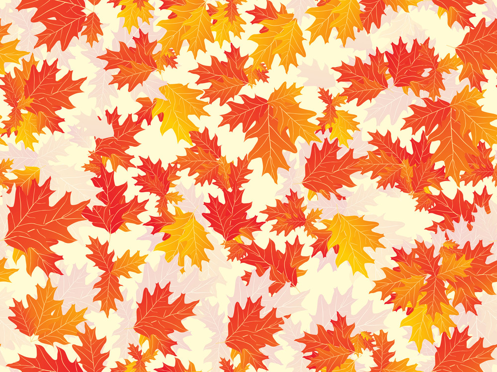 Background With Canadian Leaf