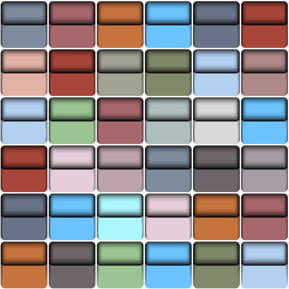 Background With  Colorful Blocks