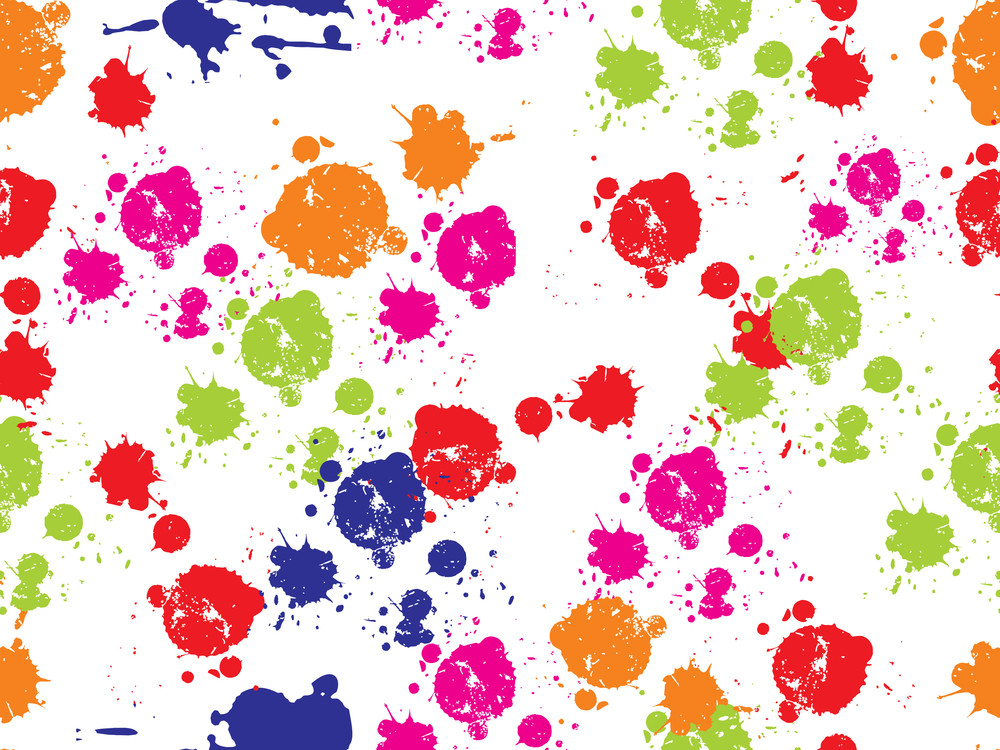 Background With Colorful Grunge