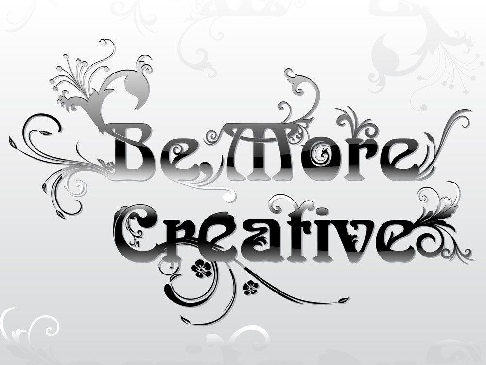 Background With Creative Artwork