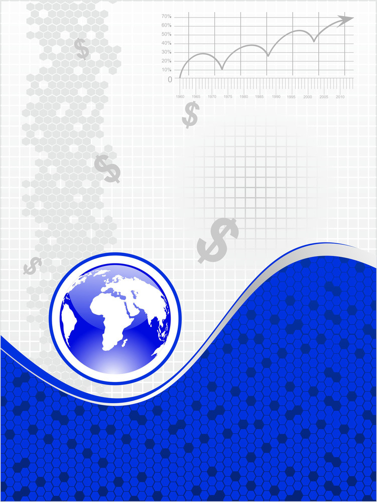 Background With Dollar Symbol