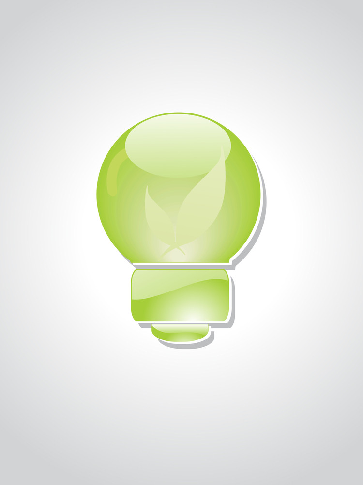 Background With Ecological Bulb