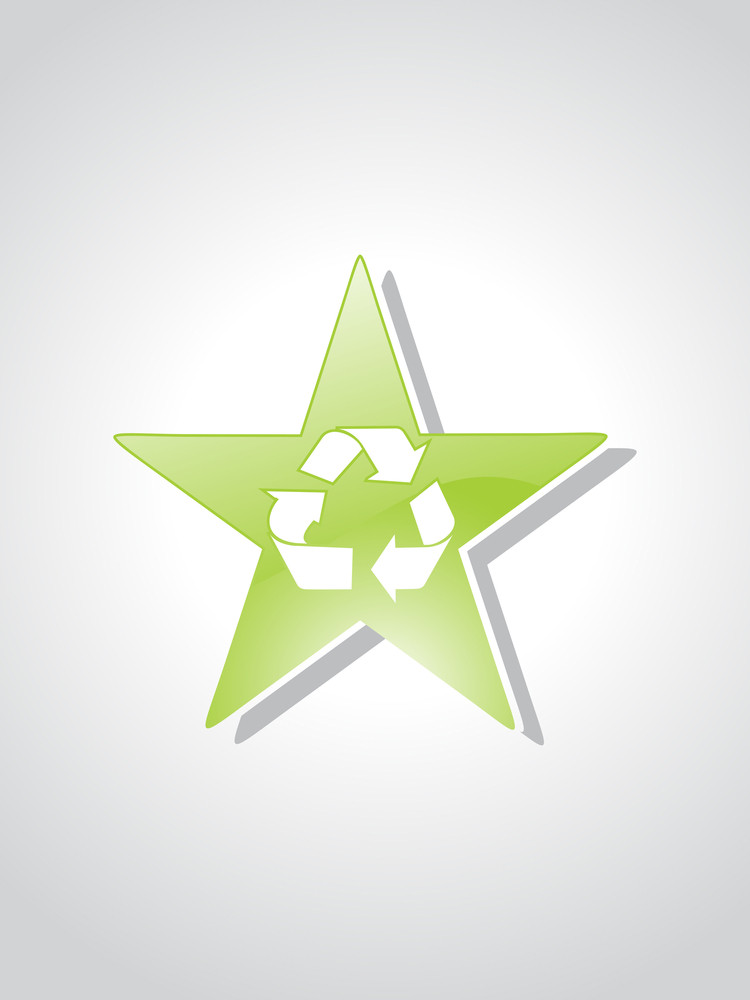 Background With Environmental Icons