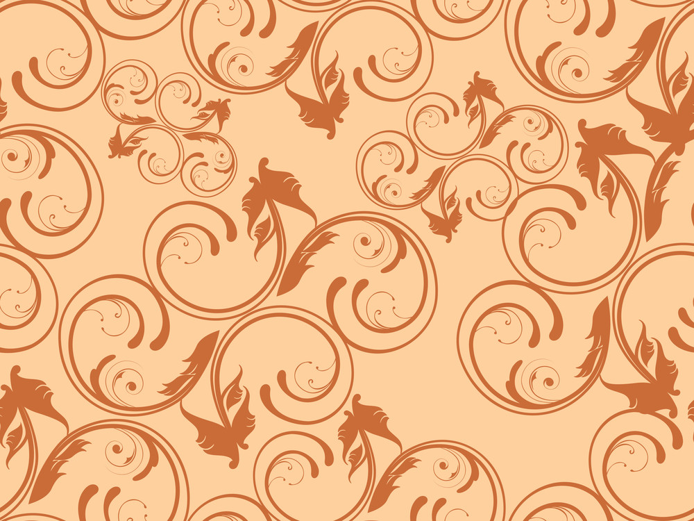 Background With Filigree Pattern