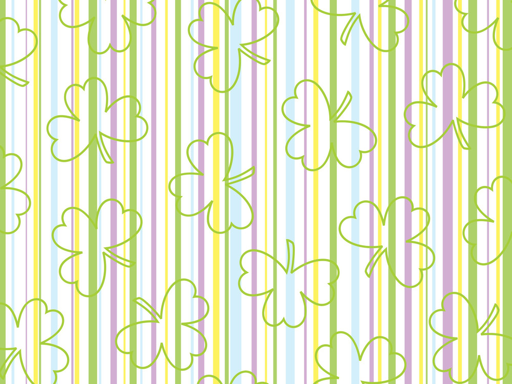 Background With Green Clover