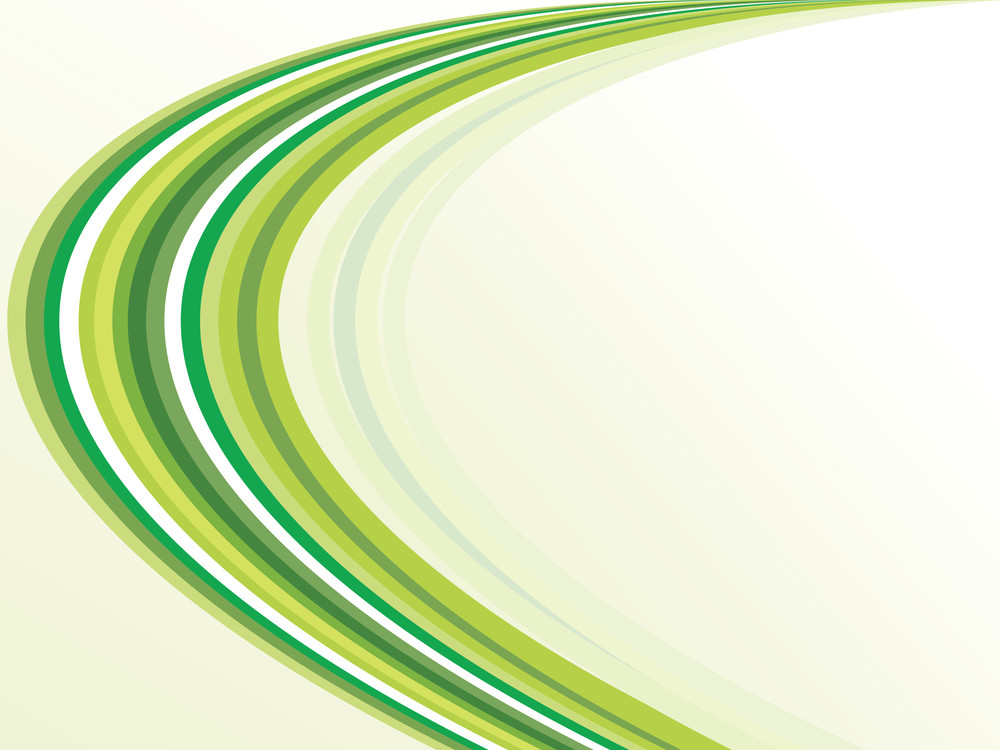 Background With Green Stripes