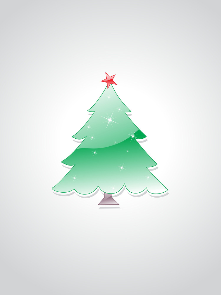 Background With Isolated Tree